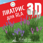 База растений «Лиатрис 3d» для Realtime Landscaping Architect